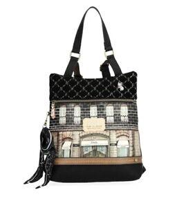 Anekke Printed Le Boutique Paris Crossbody Handbag & Backpack 29885-46COC