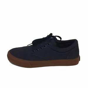 SUPRA Chino Navy Blue Men's US7 EU40 UK6 Leather Suede Skateboarding Casual Shoe