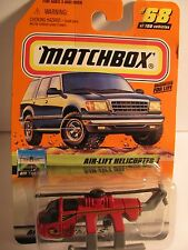 1999 Matchbox Air-Lift Helicopter #68 of 100 1/64 diecast