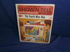 Vintage Ge Show'N Tell The Fourth Wise Man Picturesound Program 1966