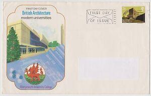 (EK19) 1971 GB FDC 3p British architecture used