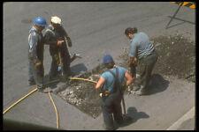 237071 Road Repair Crew A4 Photo Print