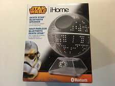 Star Wars iHome Death Star Bluetooth Speaker Complete Great working condition
