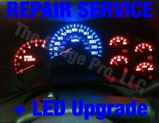 2004 gmc sierra 2500hd gauge cluster repair