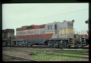 Canadian Pacific original rail slide # 8546 in Thunder Bay 1972