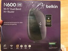New!! Belkin N600 DB Wi-Fi Dual-Band N+ Router - Ideal for Streaming Services