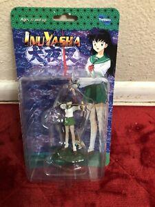 "Inuyasha Toynami 4"" mini figures Kagome"