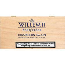 Willem II Fehlfarben Cigarillos No.439  100 Zigarren