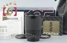 Near Mint!! CONTAX Carl Zeiss Sonnar 135mm f/2.8 T* MMJ