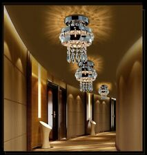 Pendant Ceiling Lamp K9 Crystal Fixture Light Chandelier Flush Mount Lighting