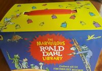 NEW;The Marvellous Roald Dahl Library Set-14 FANTABULOUS Books + CarryAlong Case
