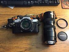 Oylmpus OM10 w/ 2 Lens 50mm & 210mm & Carry Case