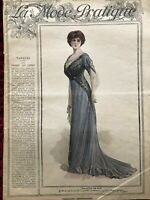 MODE PRATIQUE Feb 5,1910 + sewing pattern - SPECIAL MASQUERADE
