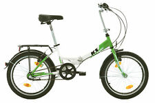 "Vélo Pliant 3Vit Nexus 20"" FX300 Vert Vélo Neuf Pliable TC 30 cm KS Cycling 580B"