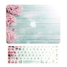 "PINK HYACINTH Matte Case + Keyboard Cover for Macbook Air 13"" A1369 & A1466"