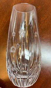 Small Crystal Hand Cut Vase