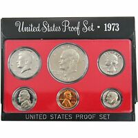 1973-S Proof Set United States US Mint Original Government Packaging Box Ike $