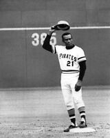 Pittsburgh Pirates ROBERTO CLEMENTE Glossy 8x10 Photo Print 3000th HIt Poster