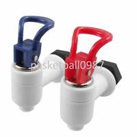 2 Stück rot blau weiß Wasserhahn Kunststoff Zapfhahn Auslaufhahn Getränkespender
