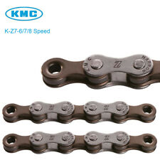 X-Z7 Bicycle 6/7/8 Speed KMC Chain for Tour, City & Fixed Gear Bike Chain 116L