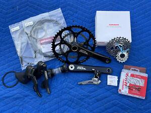 SRAM RIVAL Road Bike Groupset Shifters Crankset Cassette Front Derailleur Chain