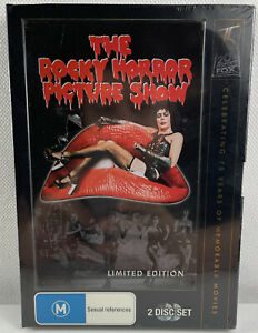 The Rocky Horror Picture Show DVD Limited Edition 2 Discs - Free Tracked Postage