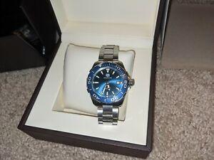 Tag Heuer Aquaracer WAY111C Blue Men's Watch