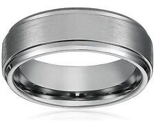 8MM Men Women Titanium Wedding Ring Band; Comfort Fit; Size 16