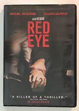 Red Eye (DVD, 2006, Widescreen) Rachel McAdams, Cillian Murphy, Wes Craven