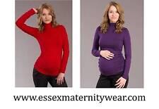 Viscose Long Sleeve Singlepack Maternity Tops and Shirts