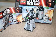 Lego ® Star Wars ™ - First Order Battle - 75132 - gebraucht - OHNE FIGUREN