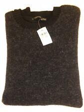 Z Zegna Mens 100% Wool Black Sweater Size L NWT $495
