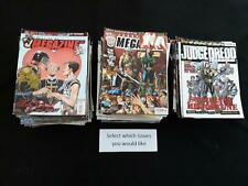 Judge Dredd Megazine volume 5 good issues  - Choose issues at £1.75 each