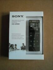 Brand NEW SONY ICD-UX560 4GB Digital Voice Recorder with Built-In USB, Black
