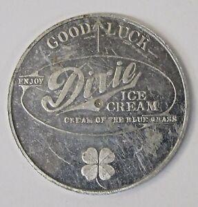 1948 U. KENTUCKY Football Schedule Coin DIXIE Ice Cream Good Luck spinner