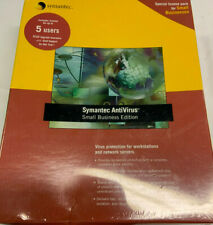 Symantec AntiVirus Small Business Edition Version 8.1 5 Users - FACTORY SEALED