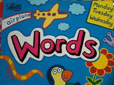 WORDS pre-school learning Penny Carlton, Jayne Greenwood LETTS EDUCATIONAL 3+