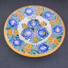 schöner alter Keramik-Teller Italien urbino