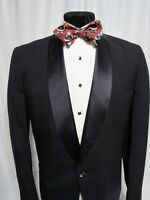 Anderson Little Co. TUX SB One button Shawl Black Tuxedo Dinner Jacket 42L