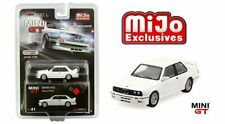 Mini GT 1:64 BMW M3 Alpine White Diecast Car Limited MGT00041