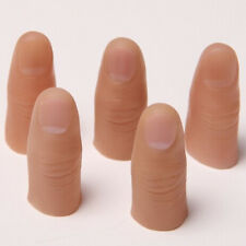 3x Magic Gimmick Rubber Artificial Thumb Finger Appearing Joke Props Trick Gift