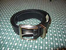 Men's Black Liz Claiborne Belt Size Small  # 3