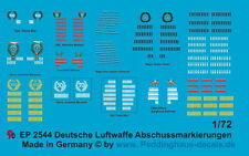 Peddinghaus 2544 1/72 Deutsche Luftwaffe Abschußmarkierungen