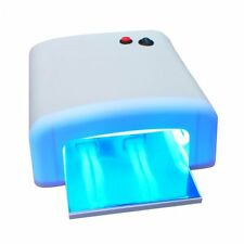 Professional 36W Nail Art UV Lamp Light Dryer 4×9W Salon Gel Curing Tube Care CE