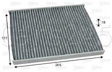 CARBONI attivati CABINA filtro aria VALEO accoppiamenti FIAT isole Ducie e Oeno Box 500 C FORD 2000 -