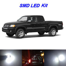 13 x White LED interior Bulbs + License Plate Lights for 2000-2006 Toyota Tundra