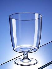 Un pezzo unico bicchieri da vino in plastica usa e getta 200 ML CONF. da 50