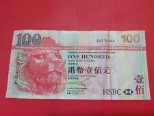 2003 Hong Kong HSBC $100