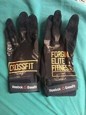Reebok Crossfit Gloves Woman's Large Black Camo New Fast Shipping