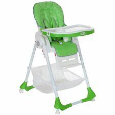 B-Ware Kinderhochstuhl Babystuhl Kombination mit Liegefunktion Klappbar Grün